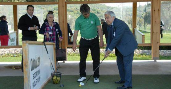 Yatağanlı öğrencilerin golf heyecanı