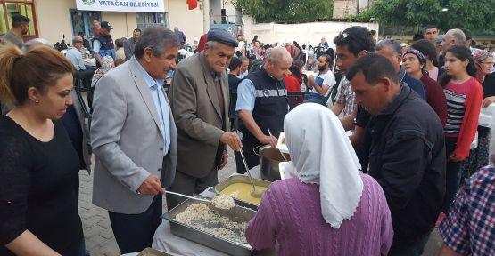 Yatağanlılar iftar sofrasında buluşuyor