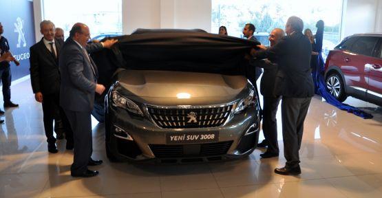 Yeni Peugeot 3008'e muhteşem tanıtım