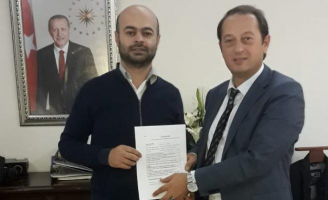 Eşref Şen, Belediye Başkan Aday Adaylığını açıkladı