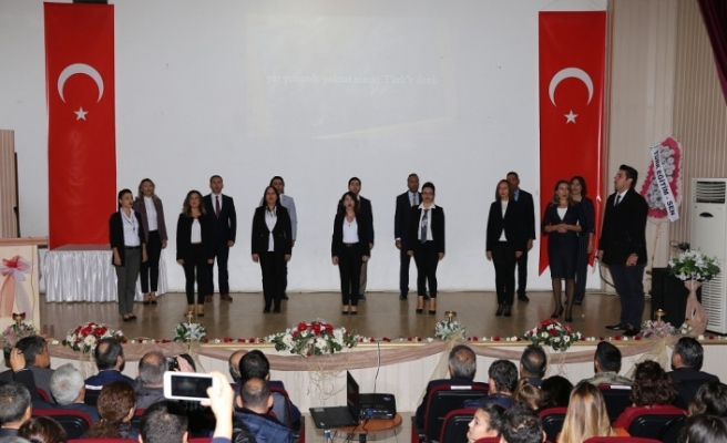 Öğretmenlerin günü törenlerle kutlandı