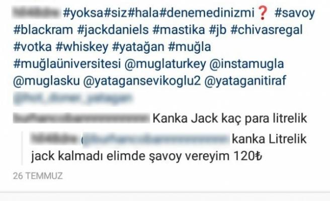 Jandarmadan Instagram'da kaçak içki satışına şok operasyon