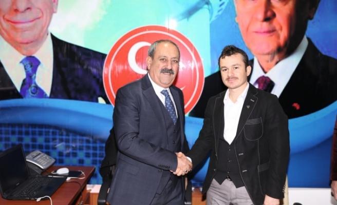 MHP'nin yeni İlçe Başkanı Arif Güldürüm oldu