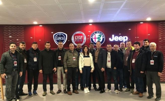 Muğlalı otomobil tutkunlarından Tofaş Türk Otomobil Fabrikasına gezi