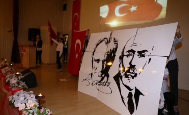 İstiklal Marşı'nın Kabulü ve Mehmet Akif Ersoy'u Anma Günü düzenlendi