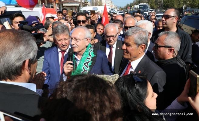 """Kılıçdaroğlu: """"Bizim mücadelemiz halk mücadelesidir"""""""