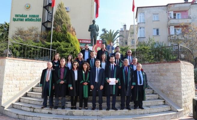 """""""5 Nisan Avukatlar Günü"""" düzenlenen törenle kutlandı"""