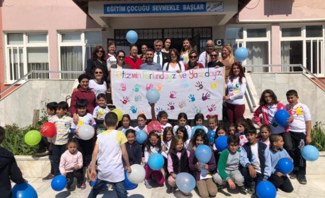 Atatürk İlkokulu'nda otizm farkındalık eğitimi