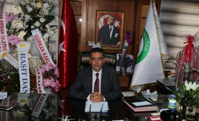 """Başkan Toksöz: """"Atatürk bizim baştacımızdır"""""""