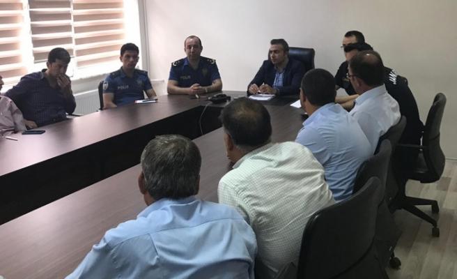 Yatağan'da Trafik Güvenliği Toplantısı yapıldı