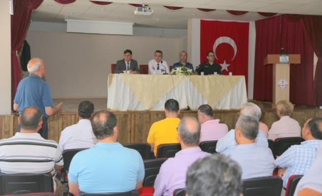 Güvenlik ve Eğitim Güvenliği Toplantısı gerçekleştirildi