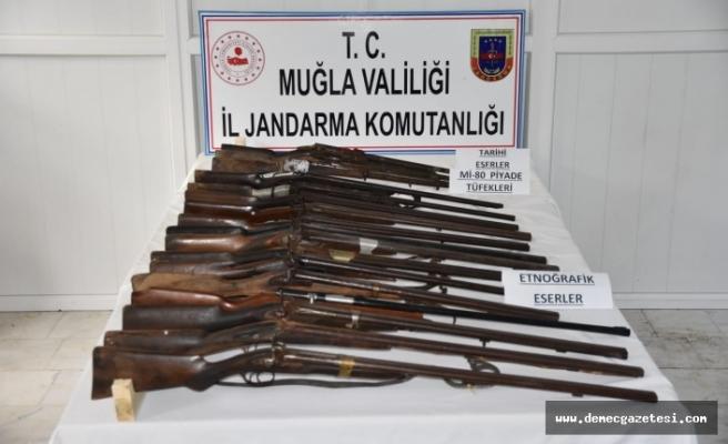 Tarihi eser tüfek operasyonu
