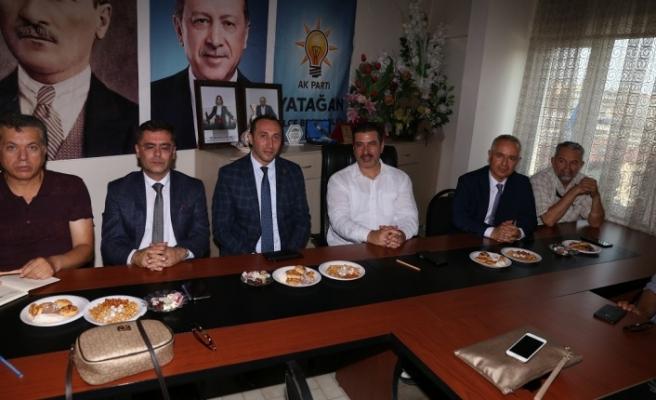 Bereket Enerji'den AK Parti'ye ziyaret