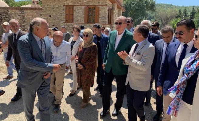 Cumhurbaşkanı Erdoğan'dan Stratonikeia'ya destek sözü