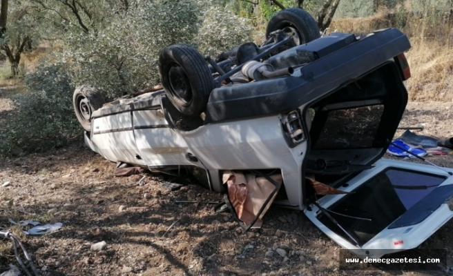 Dipsiz'deki kazada 1 kişi öldü, 2 kişi yaralandı
