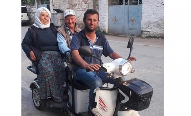 Sosyal medya, engelli ailesini taşımak için aldığı motosikletin çalınması sonrası seferber oldu