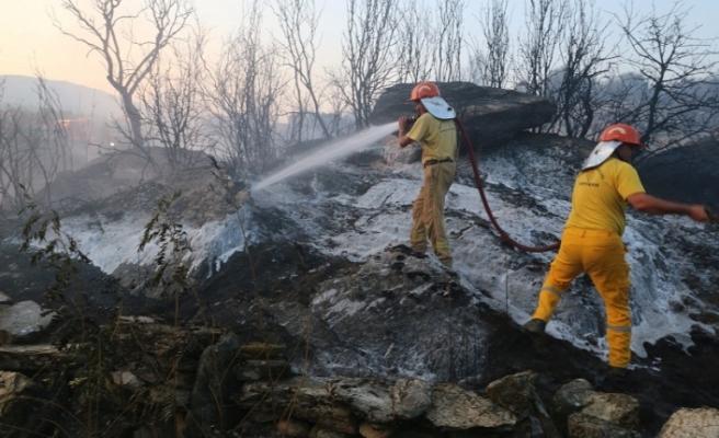 Yava'da ziraat arazisi yangını: 2 dönüm arazi kül oldu