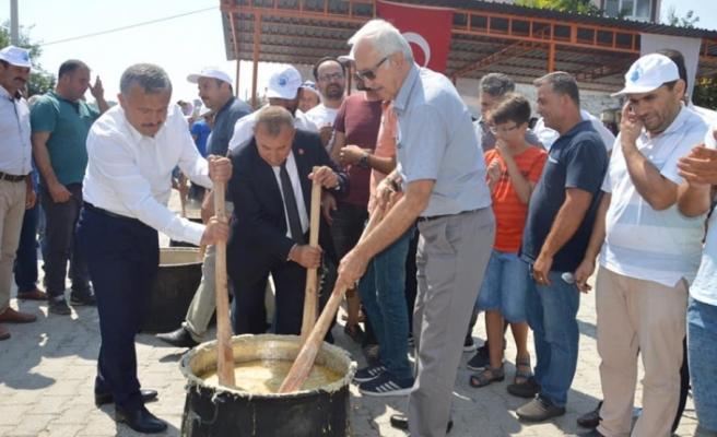 Kurucuova Keşkek Festivali'nin ilki düzenlendi