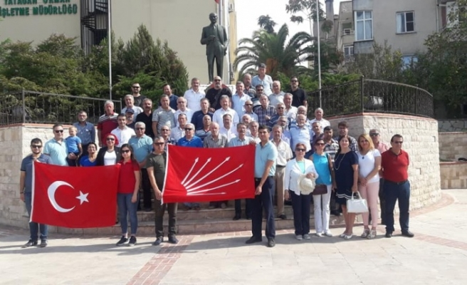 Yatağan CHP kuruluşunu kutladı
