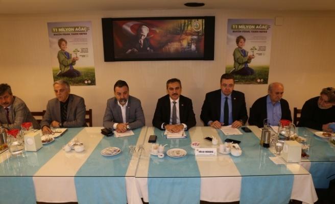 11 Kasım'da Muğla'ya 200 bin fidan dikilecek