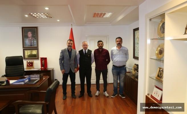 MGC'den Tuğgeneral Topçu'ya ziyaret