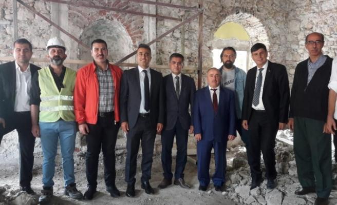 Tarihi Ebubekir Camisi, yenileniyor