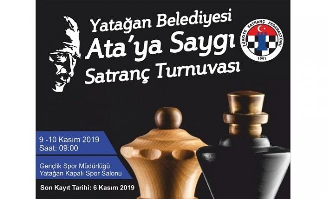 """Yatağan Belediyesi'nden """"Ata'ya Saygı Satranç Turnuvası"""""""