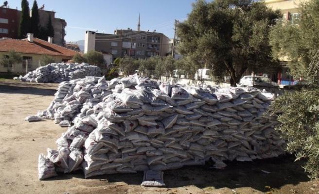 Yatağan'da 867 aileye kömür yardımı
