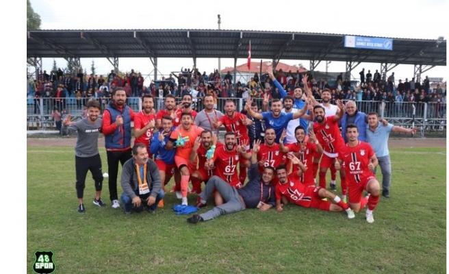 Yatağanspor'un galibiyet serisi Ortaca'da sona erdi