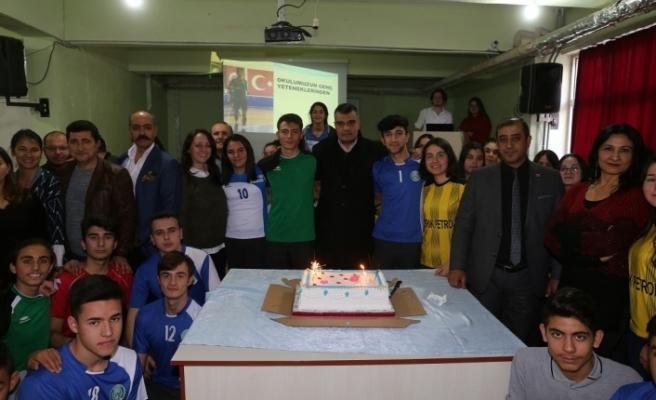 4 branşta Yatağan'ı ilde temsil edecek Gazi Anadolu Lisesi'nde kutlama