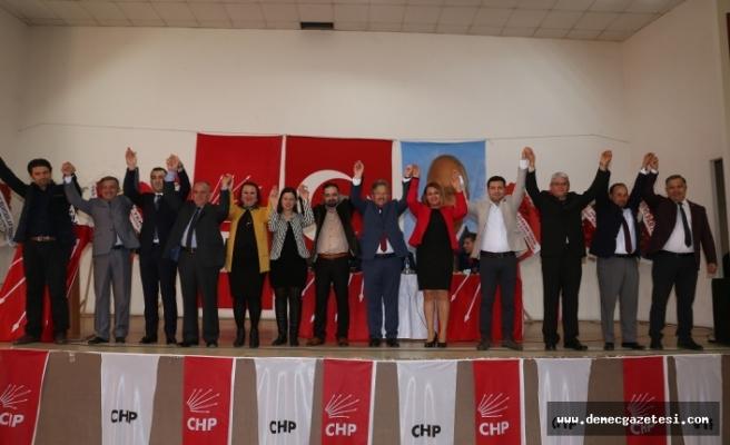 CHP Yatağan'da, Kemiksiz güven tazeledi