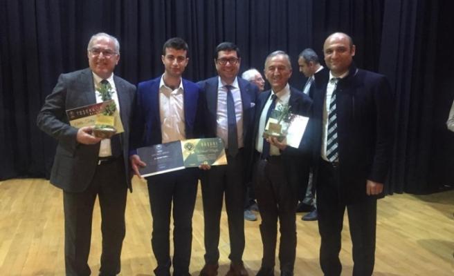 Zeytinyağı kalite yarışmasından Yatağan'a üç ödül