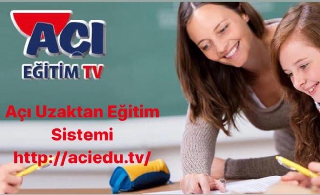 """Açı Eğitim Kurumları, koranovirüsü """"Açı Eğitim TV"""" ile aşıyor"""
