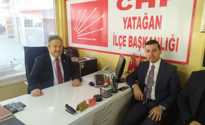 Marmaris CHP'den Yatağan CHP'ye ziyaret