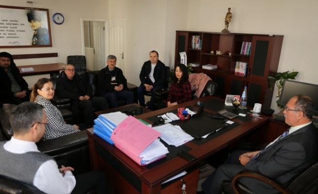 Muhasebecilerden Vergi Dairesi'ne ziyaret