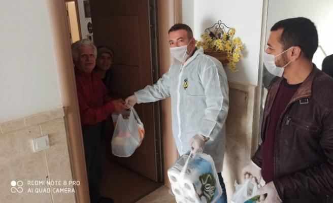 Vefa koordinasyon grubu Muğla'da 2 bin 700 aileye ulaştı