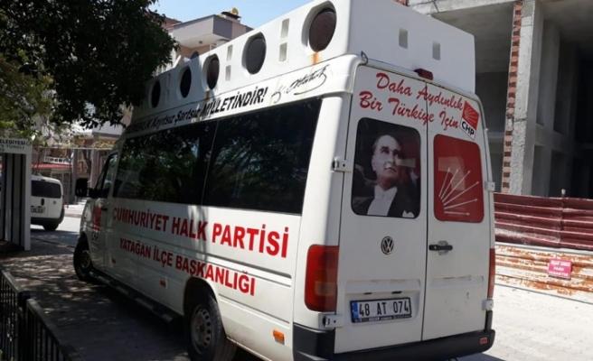 CHP Yatağan'a yeni hizmet aracı
