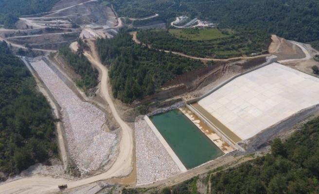 Girme Barajında sona gelindi