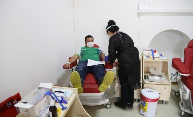 Muğla'da Kızılay'a bir haftada bin ünitenin üzerinde kan bağışlandı