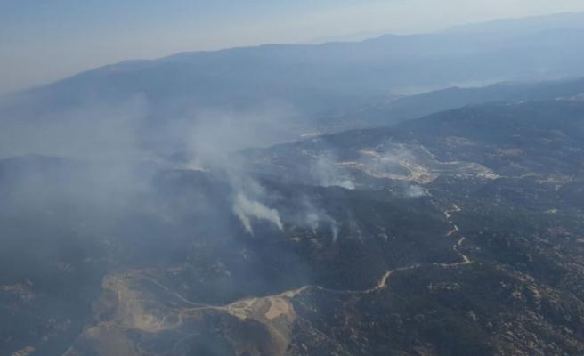 Gökbel Dağı'ndaki yangın kontrol altına alındı