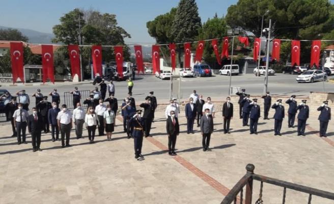 30 Ağustos, Yatağan'da törenle kutlandı