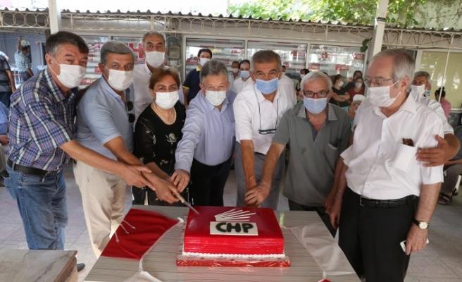 CHP'nin kuruluş yıldönümü Yatağan'da kutlandı