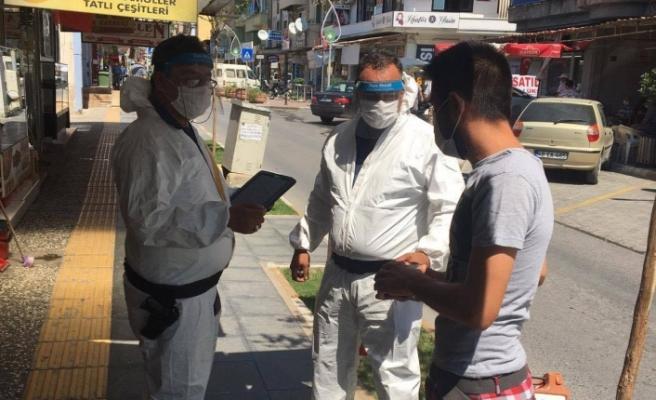 Maske takmayanlara ceza yazılıyor