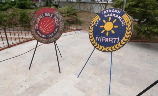 CHP ve İYİ Parti'den alternatif çelenk töreni