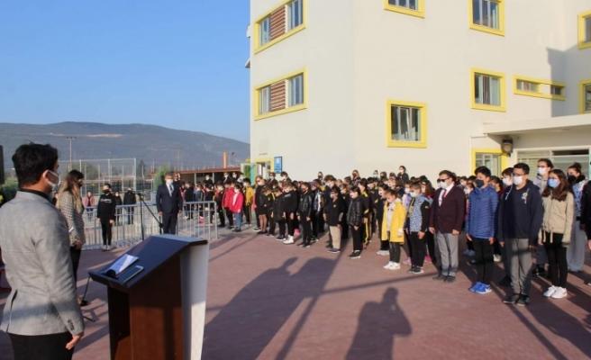 TEK Koleji, Başöğretmen Atatürk'ü andı