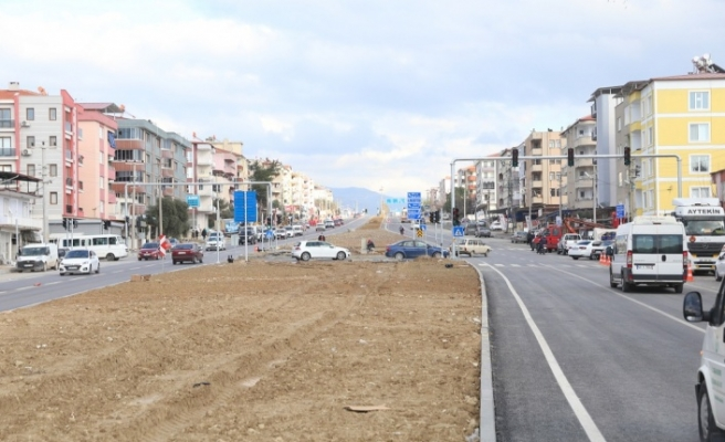 İnönü Bulvarı, çift taraflı trafiğe açılıyor