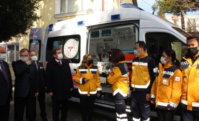 Yatağan 112 istasyonuna 1 yeni ambulans
