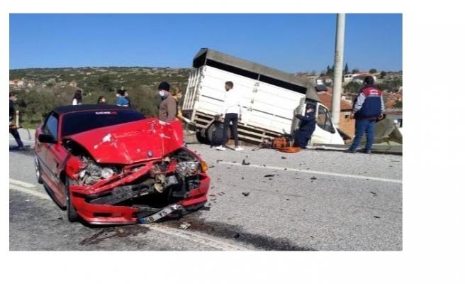 Yatağan'da kaza: 2 yaralı