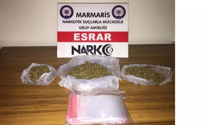 Filyasyon ekibinin araç şoförü uyuşturucu satarken yakalandı