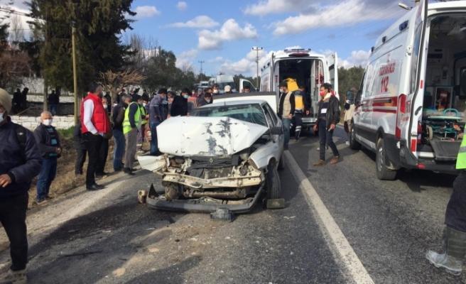 Kavaklıdere'de kaza: Aynı aileden 6 kişi yaralandı